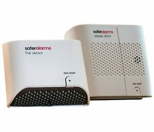 Safer Home Battery operated Heat Detection Fire Alarm System 1 Pack