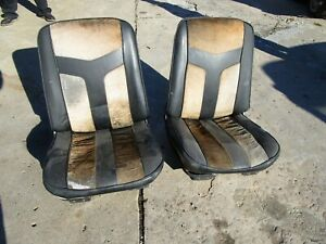 1969 1970 1971 1972 Bucket Seats Chevelle Gto Lemans Cutlass 442 Skylark Gs