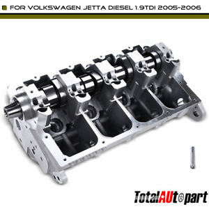 Cylinder Head Assembly W Camshaft For Volkswagen Jetta Passat Sohc Turbocharged