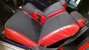 88 Chevy Monte Carlo G body Custom Recovered Seat Set front rear See Photos