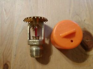 VIKING VK300 BRASS FIRE SPRINKLER 1 2 INCH NPT 155*F $5.00