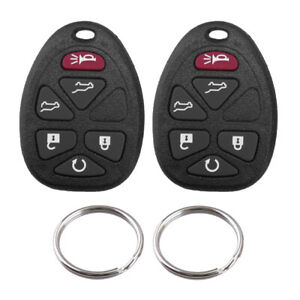 Keyless Remote Control Car Key Fob Case Replacement For Chevrolet Gmc Cadillac