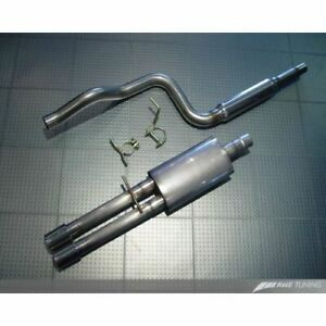 Awe Tuning 3015 22022 Performance Cat back Exhaust System For Vw Mk4 Jetta New