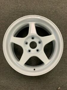 Spoon Style Wheels 16x7 Civic Integra Type R 5x114 Dc2 Ek9 Jdm White Itr Ctr
