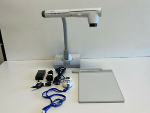 Elmo Tt 12 Interactive Document Camera W Ac Adapter Vga Cable Stage Remote