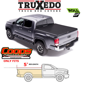 Truxedo Soft Roll Up Tonneau Bed Cover Fits 2016 2021 Toyota Tacoma 5ft Bed