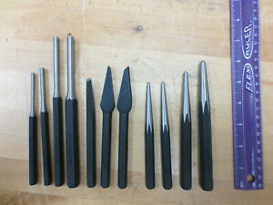 Carquest 11 Piece Punch And Chisel Set Taiwan