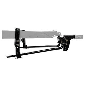 8k Reese Round Bar Weight Distribution Hitch Kit W Integrated Sway 8 000 Lbs