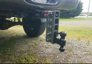 Geny 525 Lowering 10 Adjustable Drop Hitch 2 Receiver 16k Tow