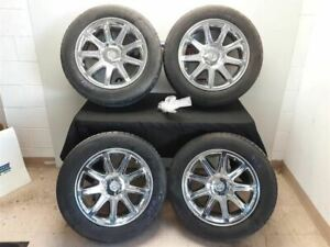 2005 06 Chrysler 300c Oem 18 Inch Alloy Wheel Set Chrome 9 Spoke 225 60r18