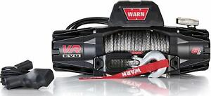 Warn 103251 Vr Evo 8 S Electric 12v Dc Winch With Synthetic Rope 8 000 Lb Cap