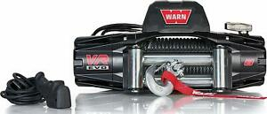 Warn 103250 Vr Evo 8 Electric 12v Dc Winch With Steel Cable Wire Rope 8 000 Lb