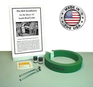 New 1 Premium Flat Drive Belt For All South Bend Lathe 10l 10r Heavy 10