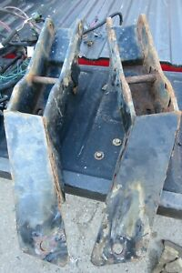 Western Snow Plow Push Plates Mounts And Wiring Off 2007 Chevy 2500 Classic