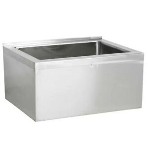 Regency 18 16 gauge Stainless Steel One Compartment Commercial Utility Sink