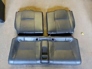 2002 04 Acura Rsx Type s K20a2 2 0l Oem Leather Rear Seats wear