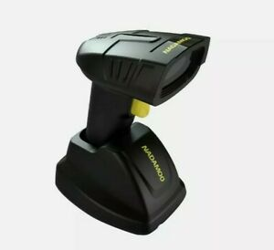 Nadamoo Wireless Barcode Scanner With Charging Cradle Read 1d 2d Qr Code New