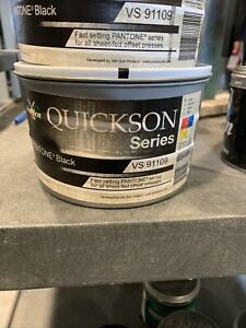 Van Son Quickson Vs91109 Printing Ink 2 2 Lbs 2cans 4 4 Lbs Total
