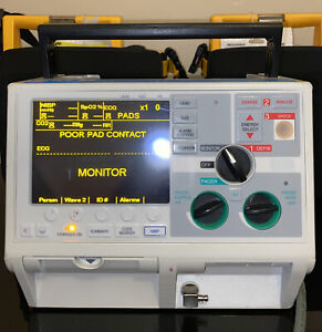 Zoll M Series Biphasic 200 Joules Monitor 3 Lead Ecg Pacing Analyze Ready