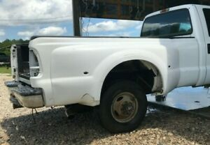 1999 2010 Ford Super Duty F350 White Dually Long Wheel Base Bed 4x4