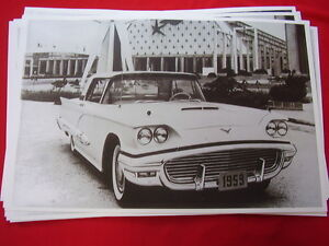1959 Ford Thunderbird Coupe 11 X 17 Photo Picture