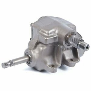 Manual Steering Gear Box For Chevy S10 Blazer Gmc S15 Jimmy Sonoma