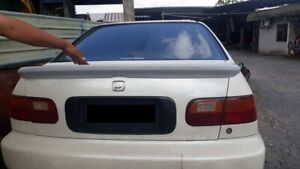 For Jdm Civic Eg Eg9 Eg8 Ferio Sir Vti Delsol Crx Eg2 Flush Spoiler Wing Sedan