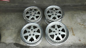 Jdm Ssr Eos 16 Rims Wheels For Z31 S30 240sx 180sx 114 3x5