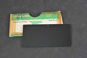 Vtg Green Label Thermo Welders Welding Filter Lens Plate Shade 12 Usa Made 2