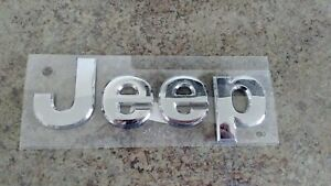 2011 2021 Jeep Grand Cherokee Chrome Emblem P n 05182390ab Oem New Mopar