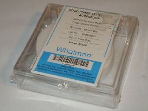Whatman 6805 8037 Solid Phase Extraction Spe 90mm Dfp Prefilter Pack Of 16