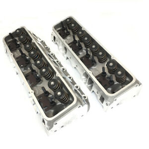 Brodix Ik 180 Series Sbc 350 5 7l Gm 23 Aluminum Cylinder Head Assembly Set