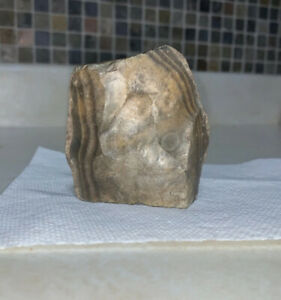 Authentic Paleolithic Flint Hand Axe