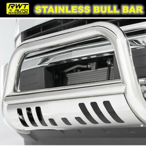 Chrome Bull Bar Fit 2007 2010 Chevy Silverado 2500hd 3500hd Front Grille Guard