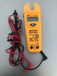 Ideal Split Jaw Automatic Smart Meter Multimeter 61 096