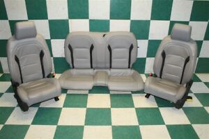 16 19 Camaro Coupe Gray Black Katzkin Power Buckets Backseat Seat Set Seats Oem