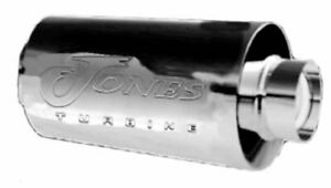 Jones Stainless Resonator Jr25 Exhaust Muffler