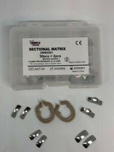 Dental Sectional Matrix System 32pc Kit Includes Matrix Bands clamp For Separate