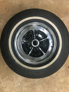 1970s Buick Chrome 15 Rally Wheels W Uniroyal Glas Belt