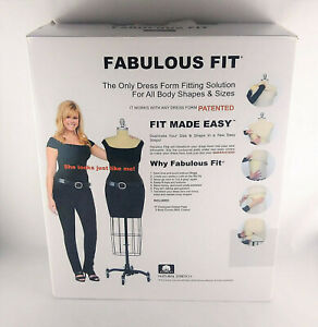 Fabulous Fit Dress Form Fitting System Size Large 14 18 L New In Open Box