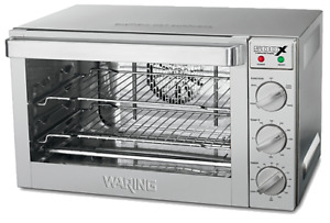 Waring Commercial 1700w Half size Convection Oven