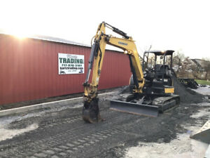 2015 Yanmar Vio55 6a Hydraulic Mini Excavator Clean Only 2900 Hours