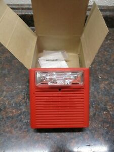 Cooper Wheelock 129024 Fire Alarm As 24mcw Audible strobe Red
