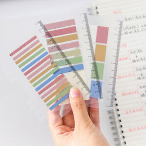Assorted Color Pet Sticky Memo Pad Page Marker Index Tabs Office School Supplies