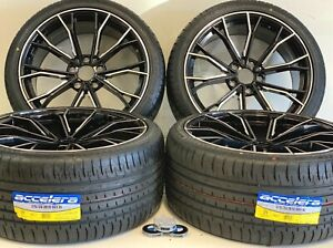 19 Inch 04 19 Wheels Rims Tires Fit Bmw 351m M5 M6 Factory Staggered F12 437m