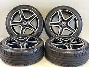 20 Inch Amg Style Ml Wheels Rims Tires Fits Mercedes 5x112 S Class E Brabus