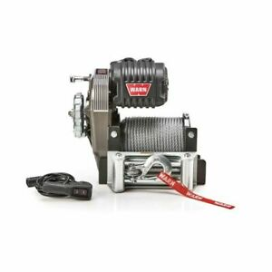 Warn 106170 M8274 Series 10 000 Lbs Winch With Steel Rope New