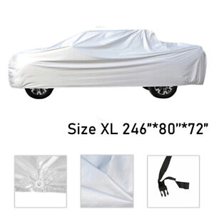 Truck Cover Waterproof Uv Rain Dust Outdoor Fit For Toyota Tacoma Nissan Titan