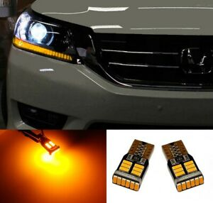 Amber yellow Led Parking Light Bulbs For Toyota Prius Super Bright Error Free