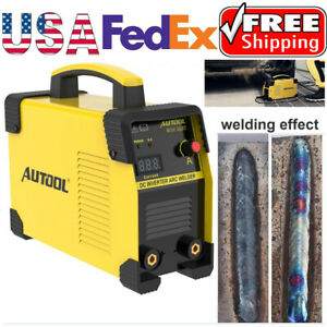 110v 220v Portable Digital Welding Machine Igbt Dc Mma Arc Welder Inverter 160a